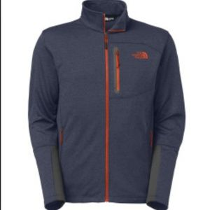 Navy North Face Canyonlands Full Zip Size M